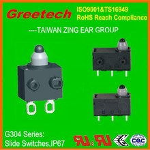 2p3t slide switch 2-3 way micro slide switches, greetech zing ear slide switch,miniature waterproof smd slide switch 3 position