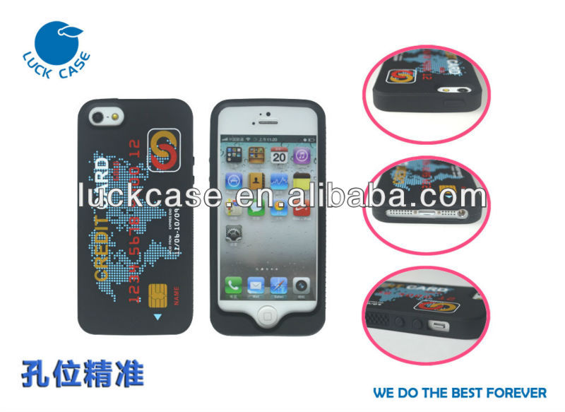 Credit card stylish case for iphone 5