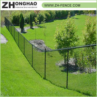 Professional Powder Coated Durable WPC Metal Frame Material 50*50 chain link fence