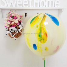 Newest Latex Balloons Manufacturers Rainbow Colored Printed Ballon