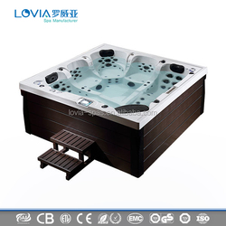 Lovia L-501 Deluxe Outdoor Spa Whirlpool Outdoor Portable Hot Tub