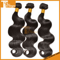 Creative Classical Trendy Unique Hot Hair Peruvian 2pcs/ Set 16 inch 5A Body Wave Weave Natural Color Remy Virgin Hair Extension