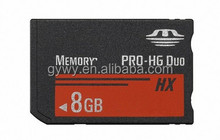 HX8GB MS Memory Stick Pro Duo Card Storage for Camera 1000/2000/3000 Memory card