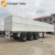 13m side wall semi trailer for container cargo transport