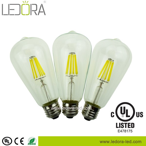 CCT (available in all 2200K- 6000k) UL certified 120V led E26 bulb