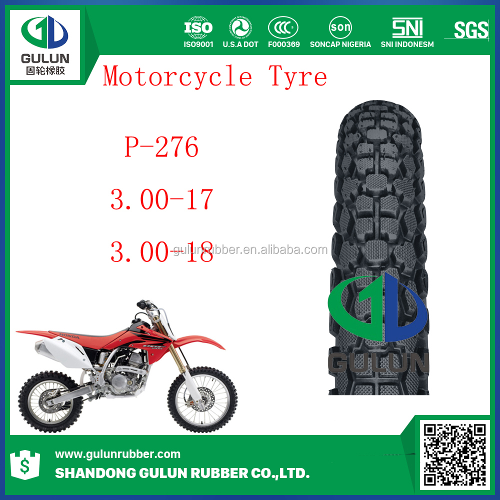 300-17 300-18 USA Fashion Pattern Motorcycle Tire