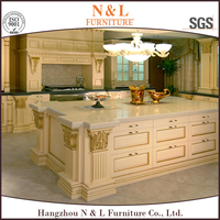 high end knock down kitchen cabinets solid wood,teak wood kitchen cabinet designs of kitchen hanging cabinets