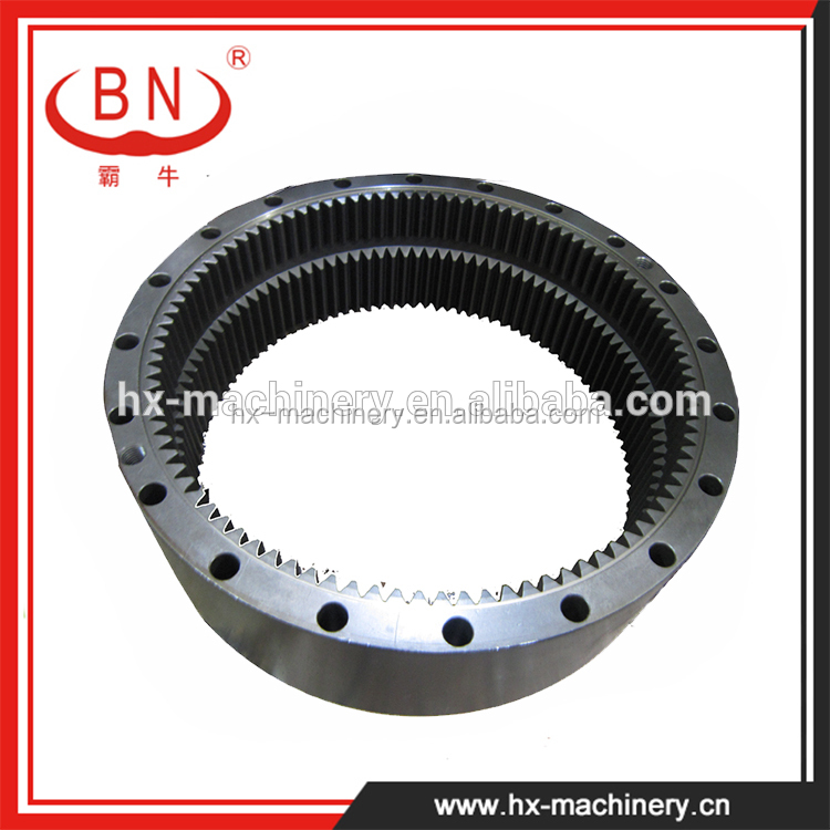 Apply to VOLVO EC210 Excavator slewing gear ring,inner slewing gear ring,rotating gear ring for sale