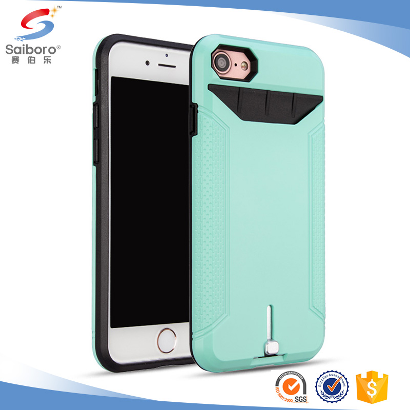 perfect fit card slot phone case for iphone 6 6s 6plus