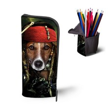 Cool DOG MEN polyester Pencil case for Students Teens Colleagues Office Staffs