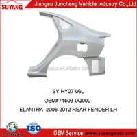 Car Spare Parts Replacement Hyundai Elantra 2006 Rear Fenders
