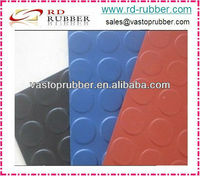 SBR Rubber Sheet With Coin Pattern/Round Stud Rubber Sheet