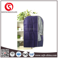 Custom Fashion wedding dress garment bag wholesale, Non Woven foldable garment bag