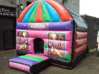 HOT SALE Kids Frozen Inflatable Bouncy Castle Bounce House
