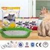 OEM cleaning cat sand supplier white colour