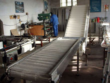 high quality chain type turnover machine turning conveyor