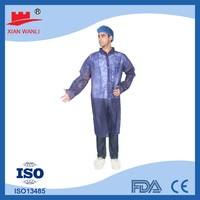 Main Factory Products Custom Disposable Red Lab Coat