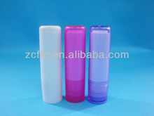 ABS lip balm stick, 5g plastic lip balm tube, glue stick container