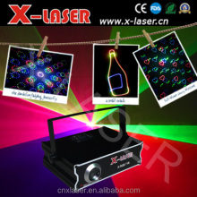 Hot Sale 500 mw RGB full color Animation laser light with SD+Animation fireworks+Beam, holiday party stage lighting