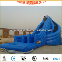 cheap inflatable slides/inflatable water slope for rent use