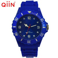 QQ209 jelly silicone watch customized logo silicone jelly watch