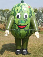 Watermelon costumes for sale, inflatable promotional K6011