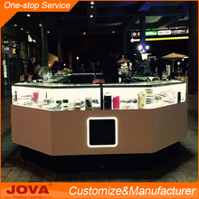 Jova factory price cell phone accessories showcase metal display stand