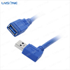 Wholesale 3.0/2.0 Right Angle USB Extension Cable Male/Female