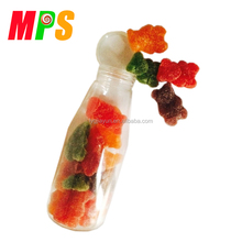 Bear shape chewing fruit gummy candy for sale