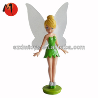 small plastic fairy dashboard mini figurine