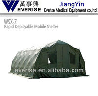 Z camo Rapid Deployable Mobile Shelter;first-aid device;medical equipment ; ferno ;emergency;patient;stryker;rescue;camo;army