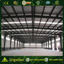 CE approved Q345b high quality steel structure workshop for rent