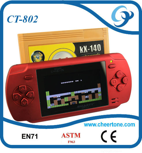 "2.7"" color screen tablet game console"