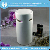 Wholesale candle burn white ceramic egyptian oil burners