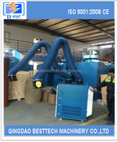 Besttech1200 workshop dust collector, electric furnace dust removal, mining cyclone
