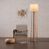 hotel lamp led floor standing lamps / wooden floor light