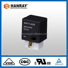 Superior Clamp Type 12V 80A Car Mini Relay 1914 40A