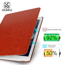 KAKU accessories casing korea pu leather stand book case cover for apple ipad 9.7 2017 mini 3
