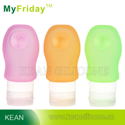 #229 silicone travel bottle and jar set for cosmetic 23