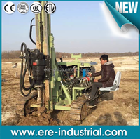 earth drilling machine for Solar Energy System