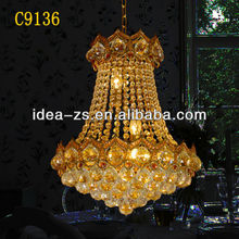 copper pendant light egypt crystal lamp led ball light remote control
