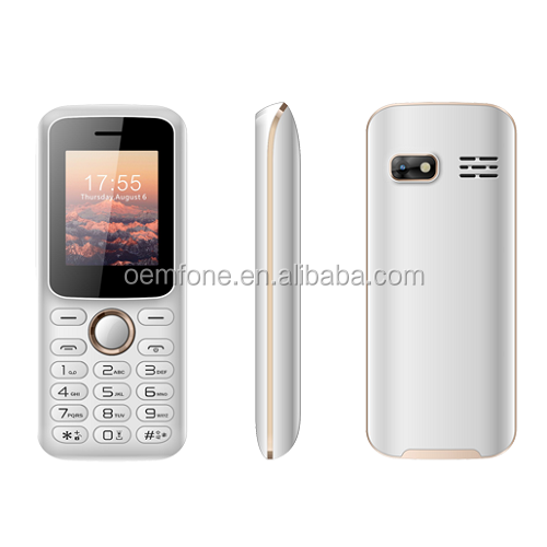 China GSM Feature <strong>Phone</strong> OEM Brand 1.8 Inch Screen Size Slim Cellphone Basic Edely <strong>Phone</strong>