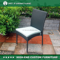 outdoor rattan aluminum stacking chair