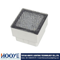 PC Square LED Driveover Uplight