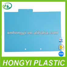 New item blue PVC binder sheet, Inner protector page.inner page