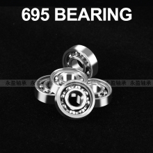 Miniature deep groove ball bearing 695 bearing 5*13*4mm yoyo bearing