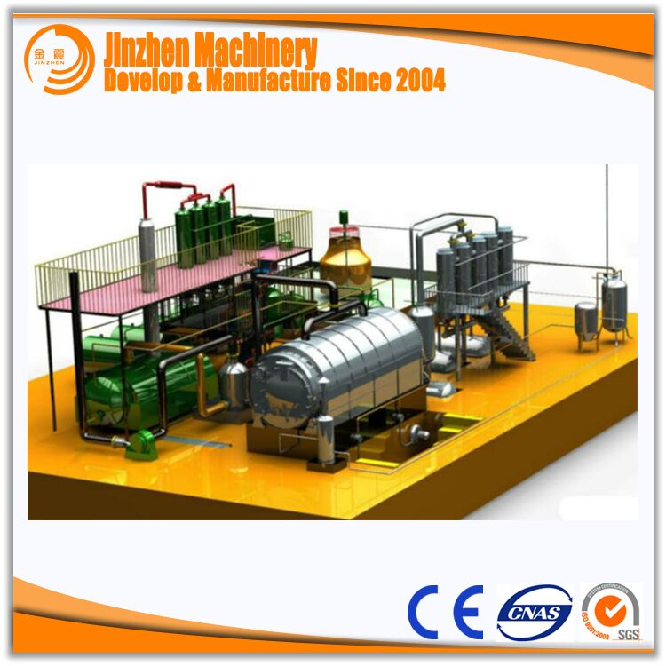 High Quality Crude Oil Refinery Machine For Sale
