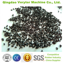 2017 hot sale recycled tyre SBR rubber crumb, crumb rubber