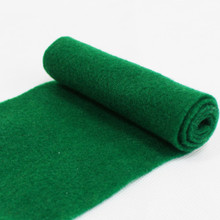 China factory Colorful 1mm-5mm 100% polyester needle punched nonwoven fabric felt