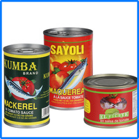 155g halal canned mackerel mackerel for sale